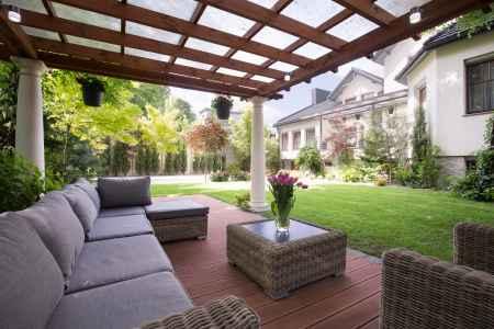Diseño de espacios con techo fijo